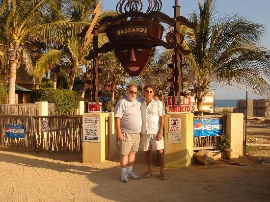 La Fonda del Mar Bed & Breakfast: Owners, Denny and Judi