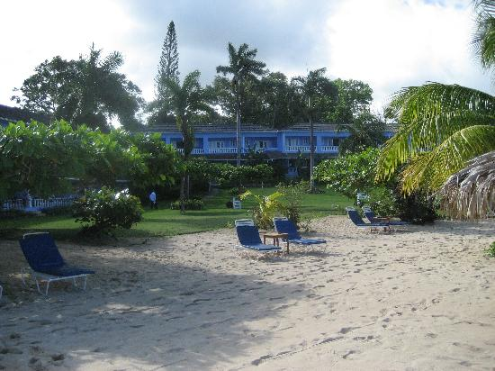 Jamaica Inn : From the Beach Looking Towards the Inn