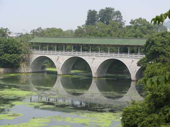 Guilin, Çin: Flower Bridge