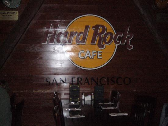 San Francisco, CA: hard rock cafe