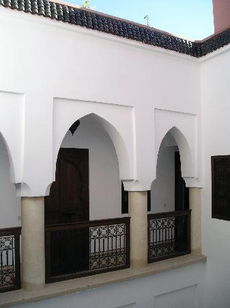 Riad Dar Zaman: A corner of the courdyard