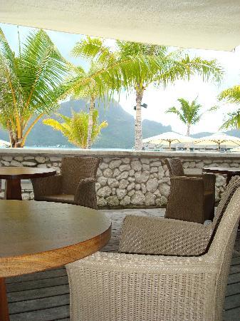 InterContinental Bora Bora Resort & Thalasso Spa : Restaurant