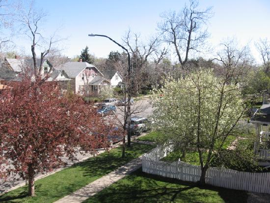The Bradley Boulder Inn: View From an Upstairs Room