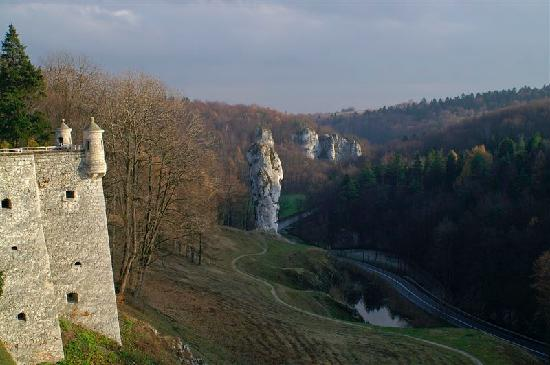 Ojcow National Park, Poland: Cudgel of Hercules