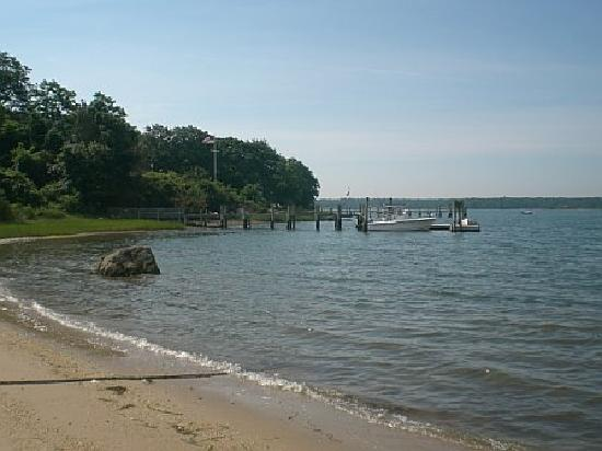 Shelter Island, Nova York: Beach at Ram's Head