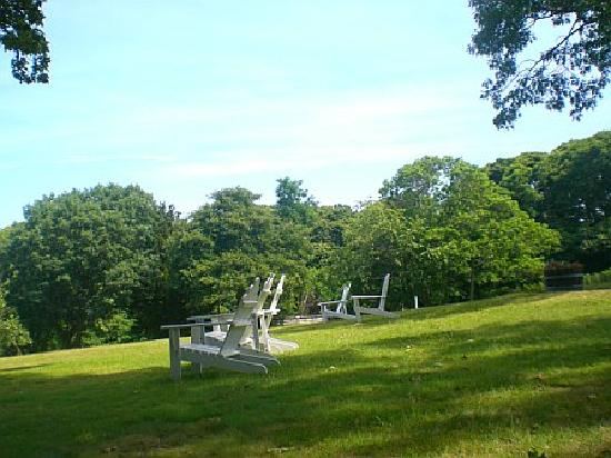Shelter Island, Nova York: Lawn at Ram's Head