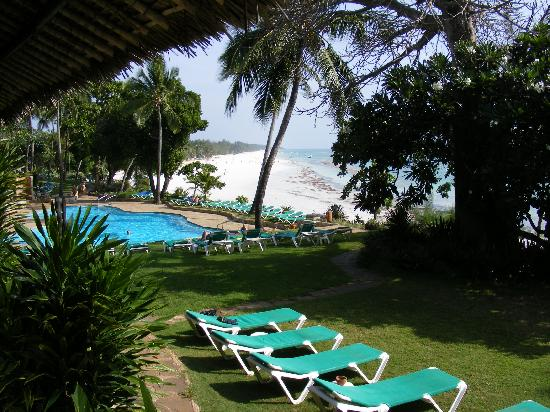Baobab Beach Resort & Spa: The view from the Restaurant