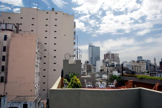 Don Telmo: A view to/from hotel terrace