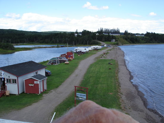Advocate Harbour, Canada: a view from the lighthouse