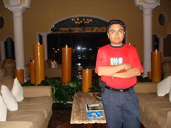 Casa Velas: en el lobby del hotel