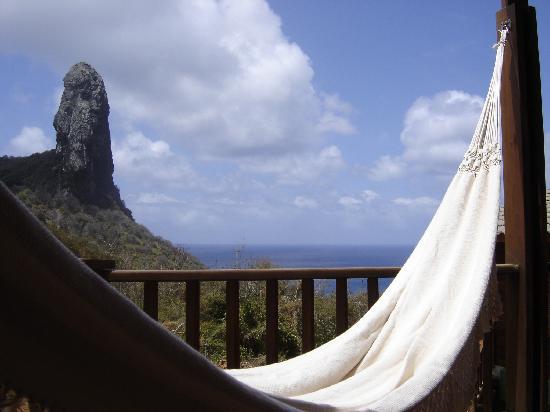 Pousada Solar de Loronha : balcony view