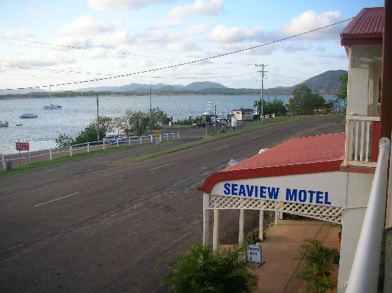 Position of Seaview Motel