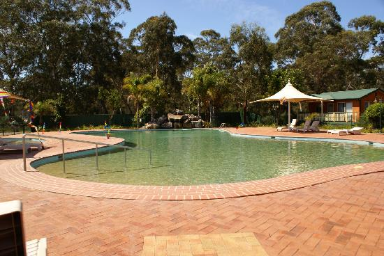 Discovery Parks – Eden: the pool
