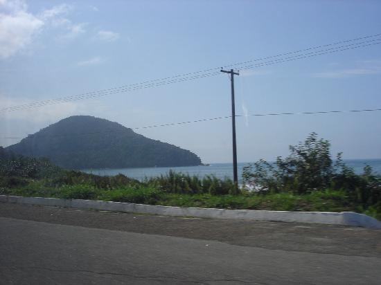 Ubatuba, SP: Photo inside the car