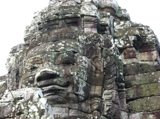 Siem Reap, Cambodia: still some of the heads