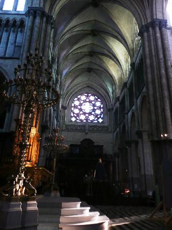 Saint-Omer Cathedral : Rose window