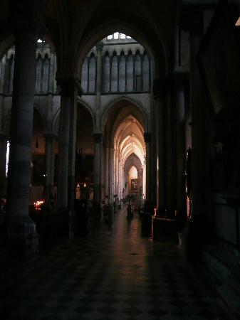Saint-Omer Cathedral : Cathedral interior