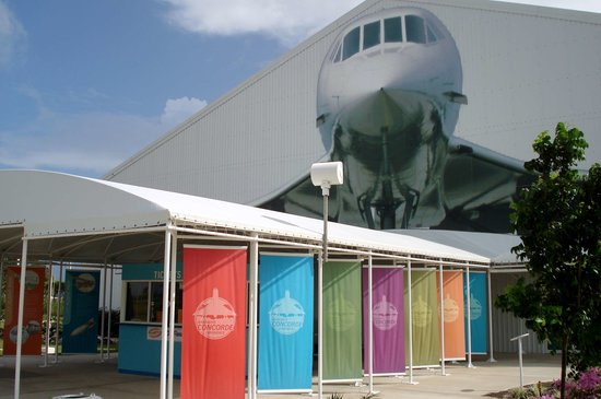 Barbados Concorde Experience: Entrée du Musée Concorde