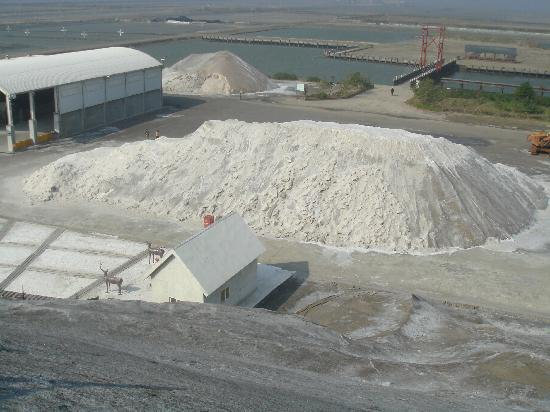 Tainan, Tayvan: Smaller salt mountain