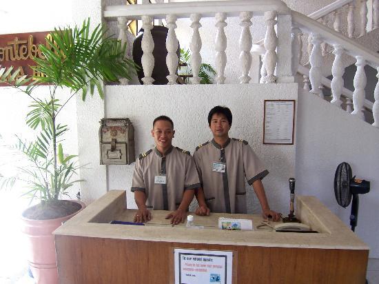 Montebello Villa Hotel: best  door men,