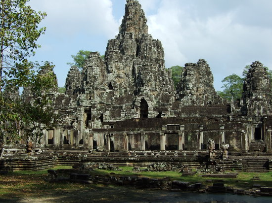 Siem Reap, Kambodsja: Banyon Temple- Angkor Thom