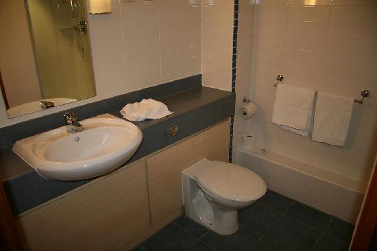 Purple Hotel: The Bathroom