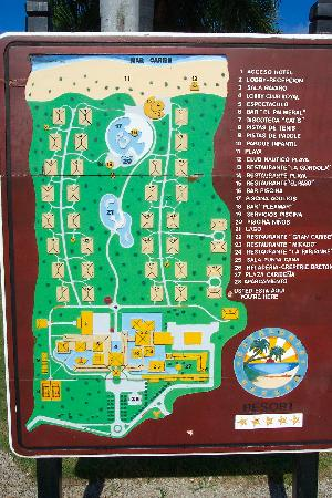catalonia bavaro beach golf and casino resort map