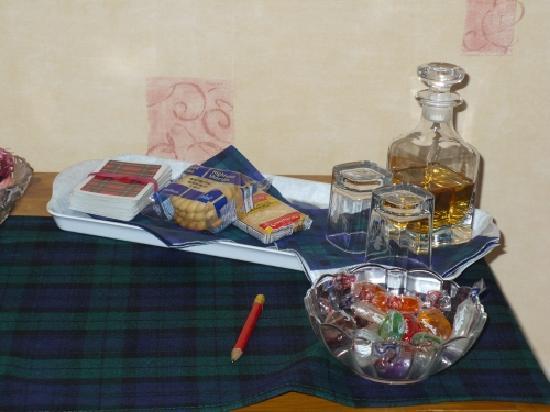 Logan Cottage B&B : A dram of Scottish Whiskey anyone?