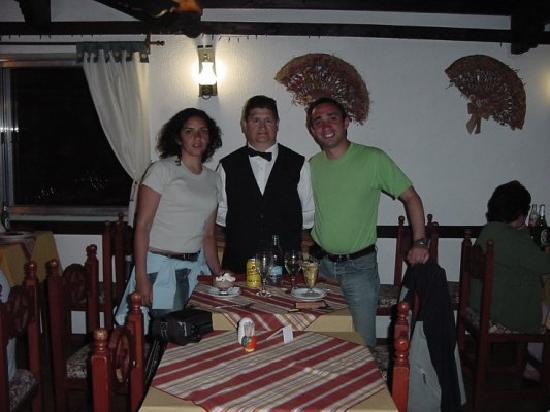 Ruca Cheli Village Ski Hotel : En el comedor, junto a Luis