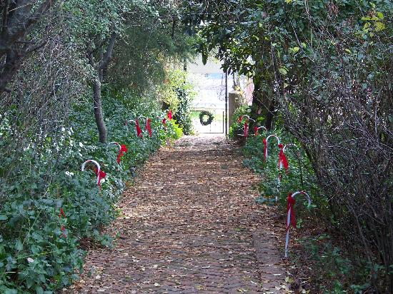 GlenMorey Country House: Walkway to Front Gate