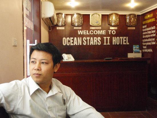 Ocean Stars 2 Hotel: Jimmy