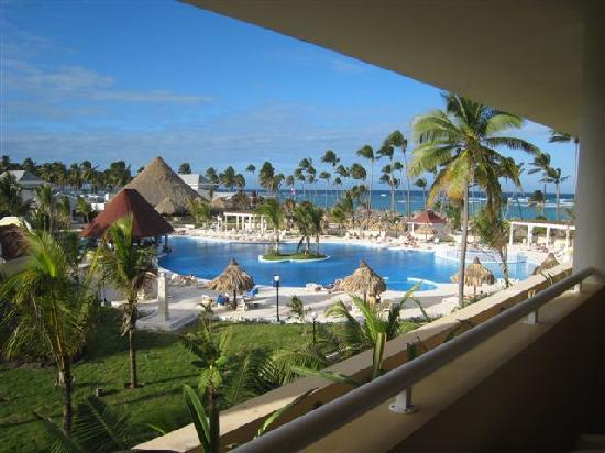 Luxury Bahia Principe Ambar Blue: vue depuis la chambre