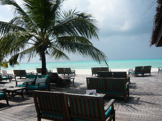 Meeru Island Resort & Spa : uthuru bar