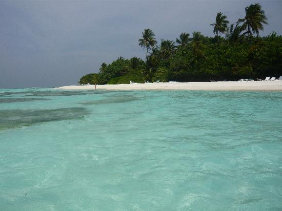 Meeru Island Resort & Spa : plage