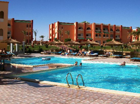 Sea World: Heated Pool at Aqua Blu - Aqua Vista Accommodation in background