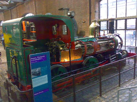 Museum of Science & Industry: Steam locomotive