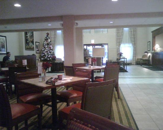 Holiday Inn Express Bourbonnais (Kankakee / Bradley): Very pleasant dining area