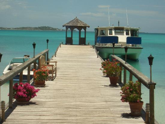 Jumby Bay, A Rosewood Resort: The main dock