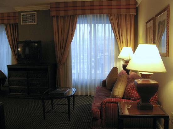 Homewood Suites by Hilton Melville - NY Hotel: living room