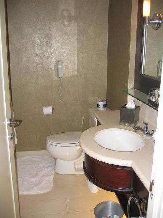 Windsor Arms Hotel : Smaller Basthroom with Shower