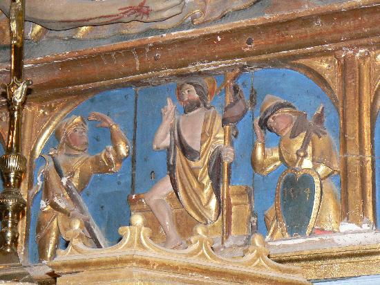 Chapelle Sainte Roseline: Retable Ste Roseline (St Jean)