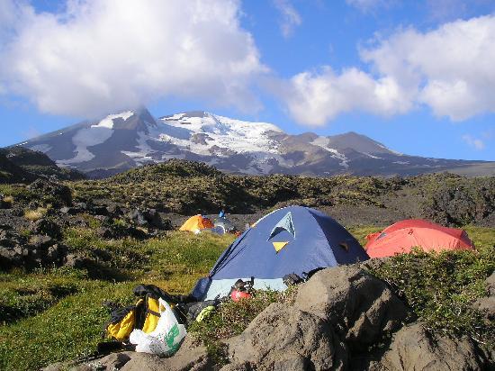 Termas de Chillan: Nevados de Chillán (Vista Campamento Base)
