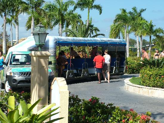 Grand Bahia Principe Bavaro: Typical Bus Ride