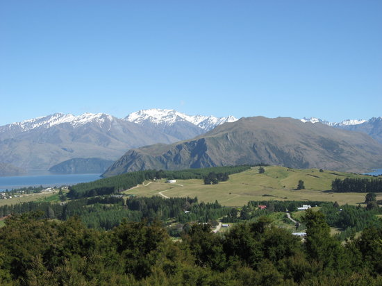Wanaka Edge Apartments: Wanaka Lake View From Iron Mountain