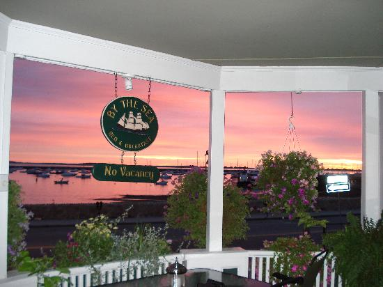 By The Sea Bed and Breakfast: Sunrise Breakfast Porch