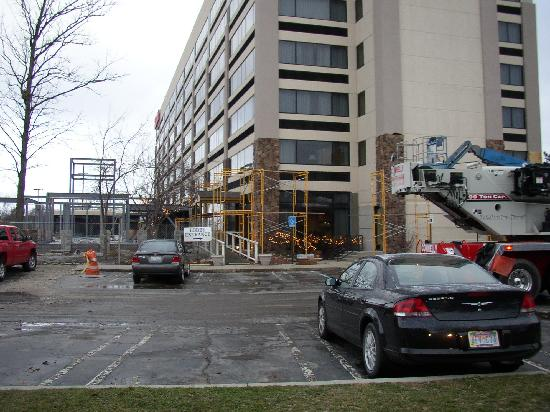 Hilton Garden Inn Detroit-Southfield: Lobby Entrance
