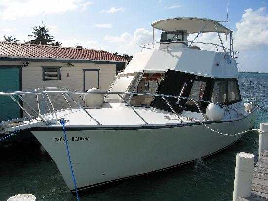 Turneffe Flats: Nice Dive Boat!