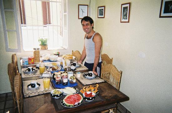 Ananab, Guest house Rio : Super Breakfast!