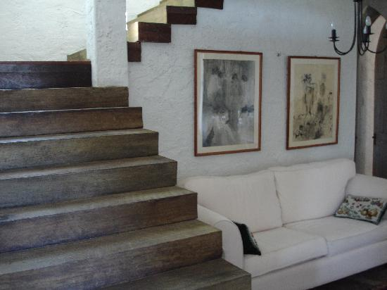 Fillmore's Lombardy: Stairs to bedroom