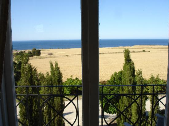 Fillmore's Lombardy: View from bedroom